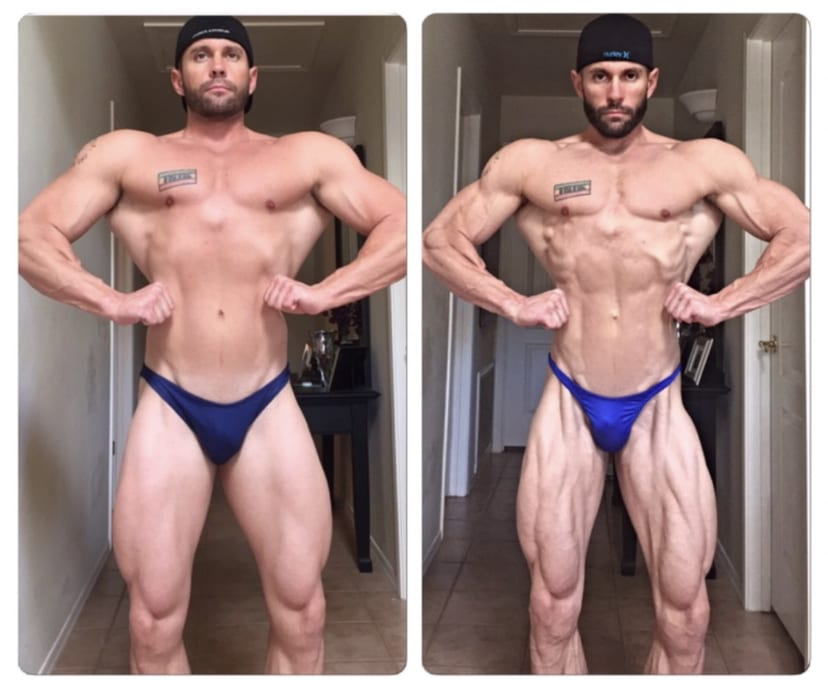 personal training and nutrition progress contest prep